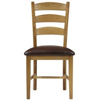 Image of: Ardennes Leather Dining Chair Sarlat - John Lewis Dining Chairs