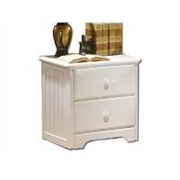 Image of: Arizona 2 Drawer Small Single Assembled - Bedside Tables and Drawers