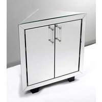 Image of: Art Mirrored Corner Sideboard Furniture - Sideboards
