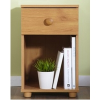 Image of: Aspen One Drawer Bedside Table - Bedside Tables and Drawers