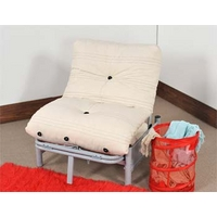 Image of: Aster 1 Seater Futon and Reflex Foam Mattress - Futon Beds