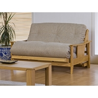 Image of: Atlanta Futon Small Double and Futon Mattress Kobe Chocolate - Futons