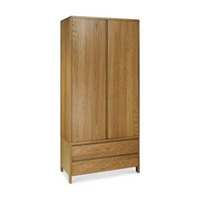 Image of: Bentley Designs, Domino Wardrobe - Oak Wardrobes