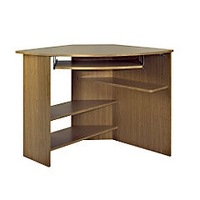 Image of: Blenheim Oak Corner Desk - Oak Computer Desk - Oak Desk - Desks