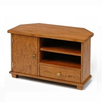 Image of: TV Cabinet - Greenham Oak Corner TV Cabinet - TV Cabinets
