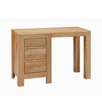 Image of: Contemporary Oak Single Pedestal Desk - Oak Pedestal Desks