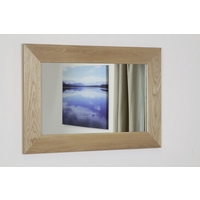 Image of: Cosmopolitan Mirror with Solid Oak Frame - 1200mm x 600mm