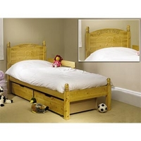 Image of: Friendship Mill - Teddy 2FT6 Sml Single Bedstead - Single Beds