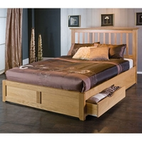 Image of: Limelight Bianca 4FT 6 Double Wooden Bedstead - Double Beds