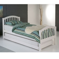 Image of: Limelight Despina 3FT Single Wooden Guest Bed - Single Beds
