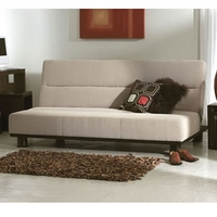 Image of: Limelight Triton Sofa Bed Beige - Sofa Beds