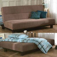 Image of: Limelight Triton Sofa Bed in Brown - Sofa Bed