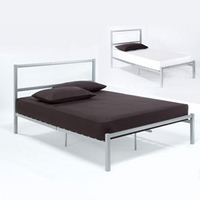 Image of: LPD Chelsea 3FT Single Metal Bedstead - Single Beds