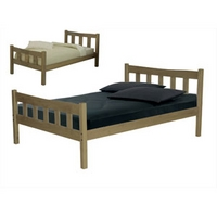 Image of: LPD Havana 3FT Single Wooden Bedstead - Single Beds