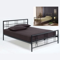 Image of: LPD Metro 3FT Single Metal Bedstead - Single Beds