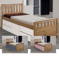 Image of: Star Collection Ferrara Colour 3FT Single Captains Bed - Single Beds