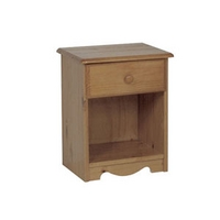 Image of: Star Collection Verona 1 Drawer Bedside Table - Bedside Drawer