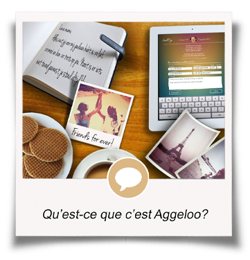 Aggeloo is the online memorial platform where the loving memory of a close friend or relative is kept alive.