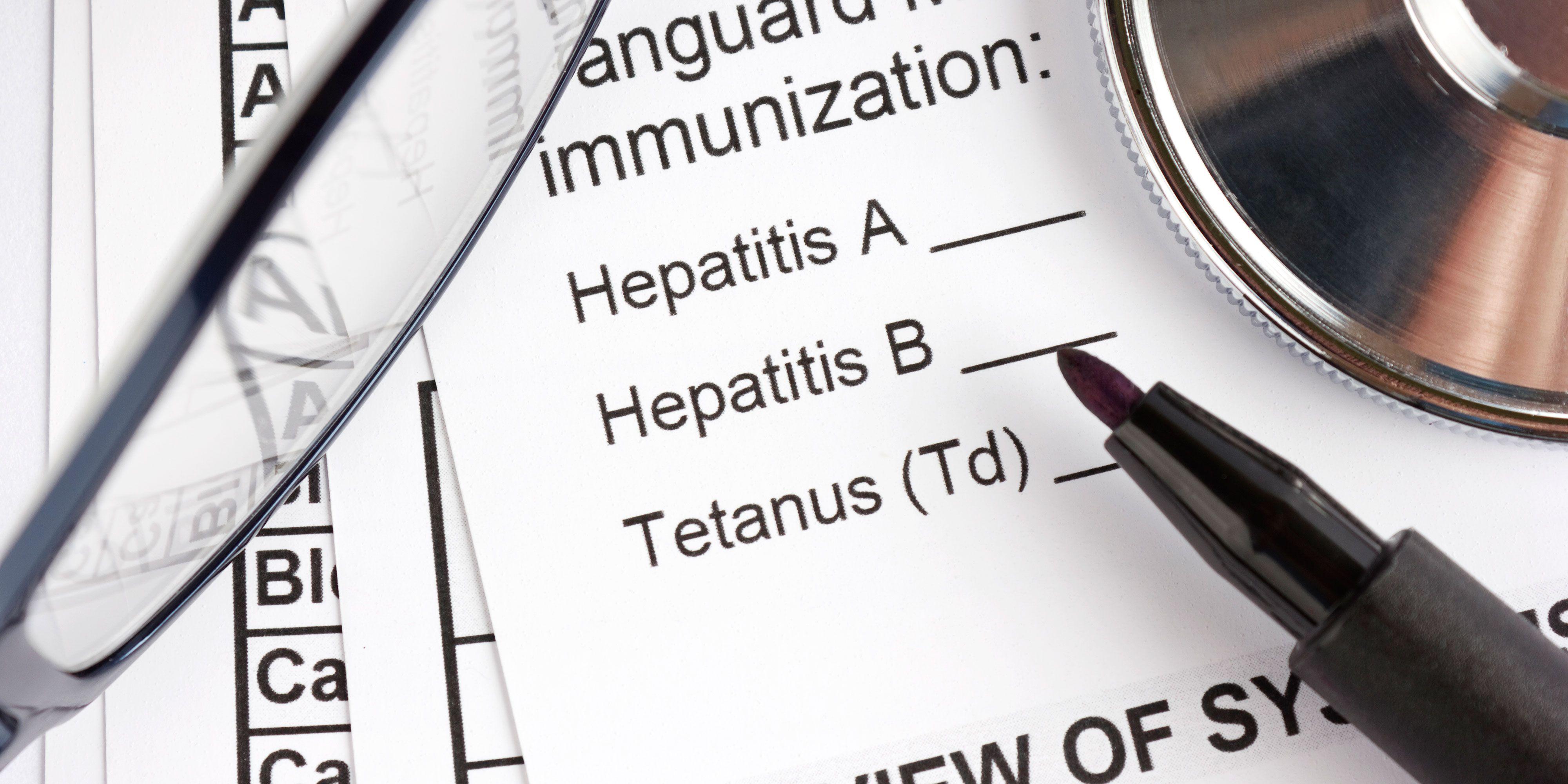 أعراض التهاب الكبد الفيروسي