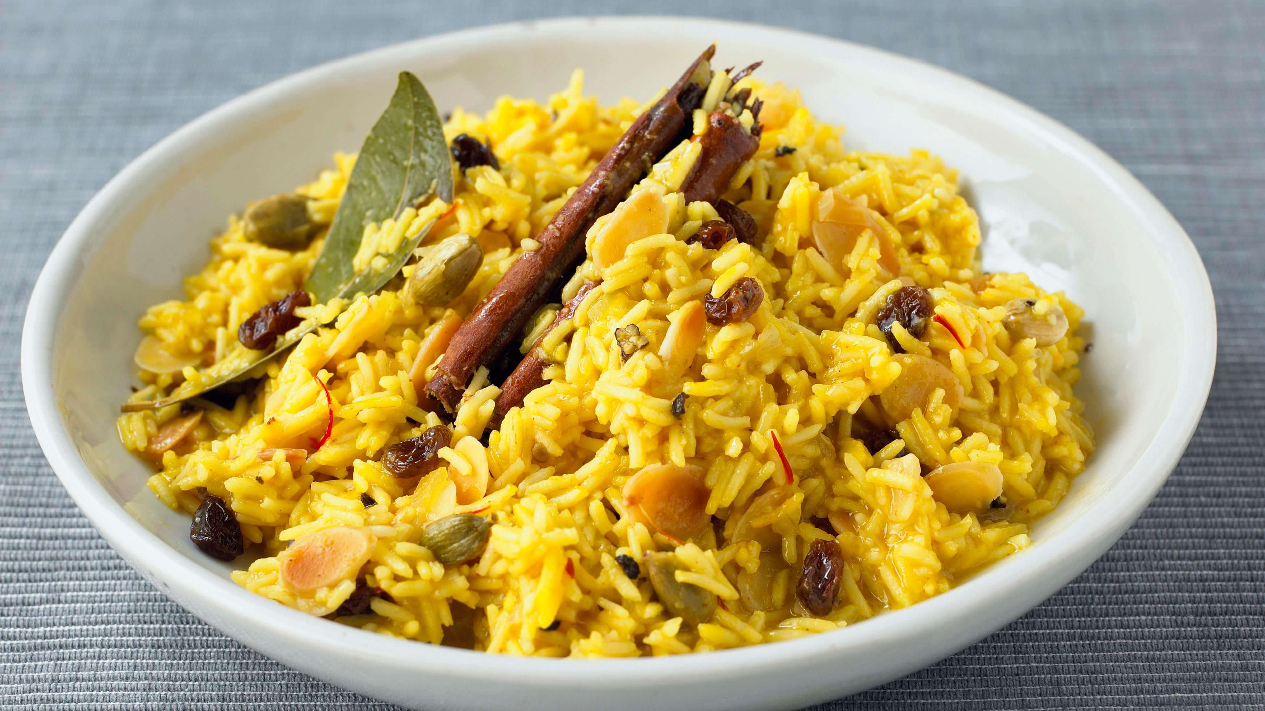 طريقة عمل الأرز البسمتي