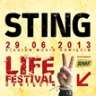 Life Festival Owicim 2013: Sting