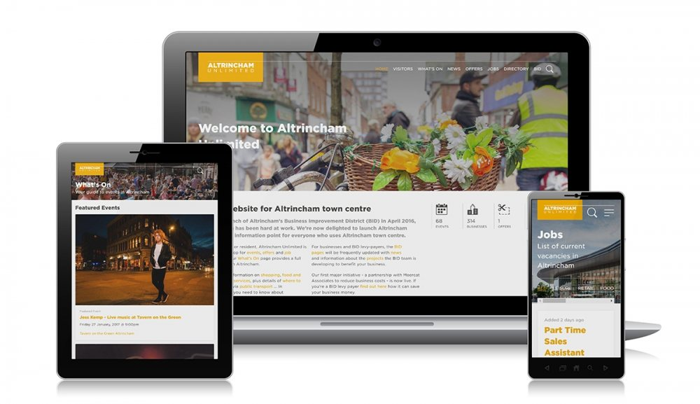 The Altrincham Unlimited Website