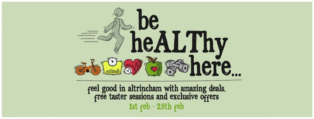 Be heALThy here! Fantastic health & fitness offers in Altrincham this February