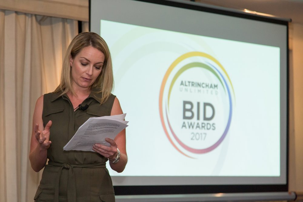 ​BID Awards celebrate unlimited success in Altrincham!