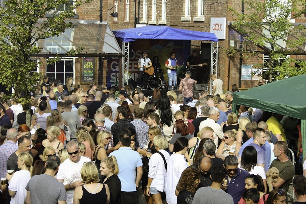 Over 8,000 head to Altrincham for bank holiday music bonanza