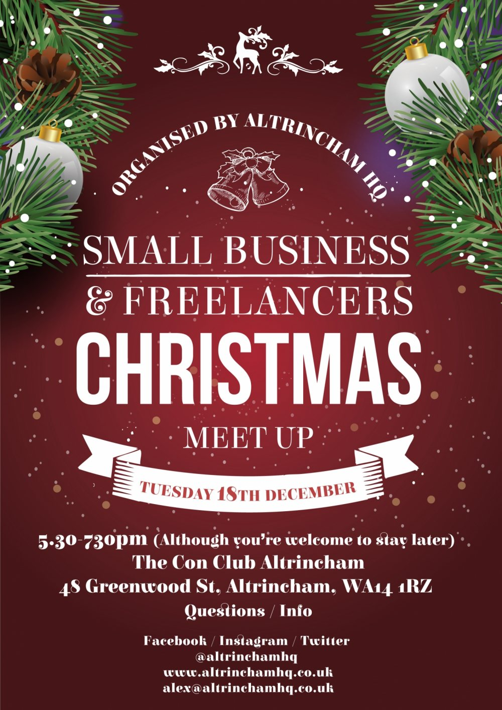 Small Business & Freelancers Christmas Meet-Up