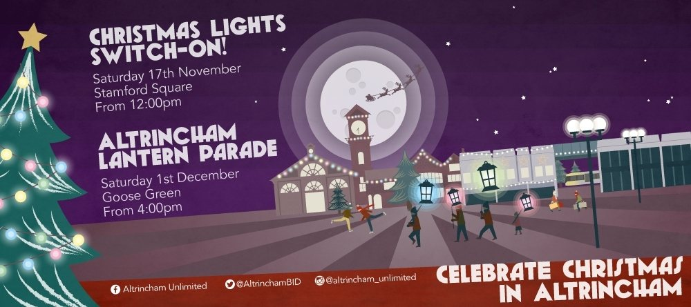 Altrincham Christmas Lights Switch-On!