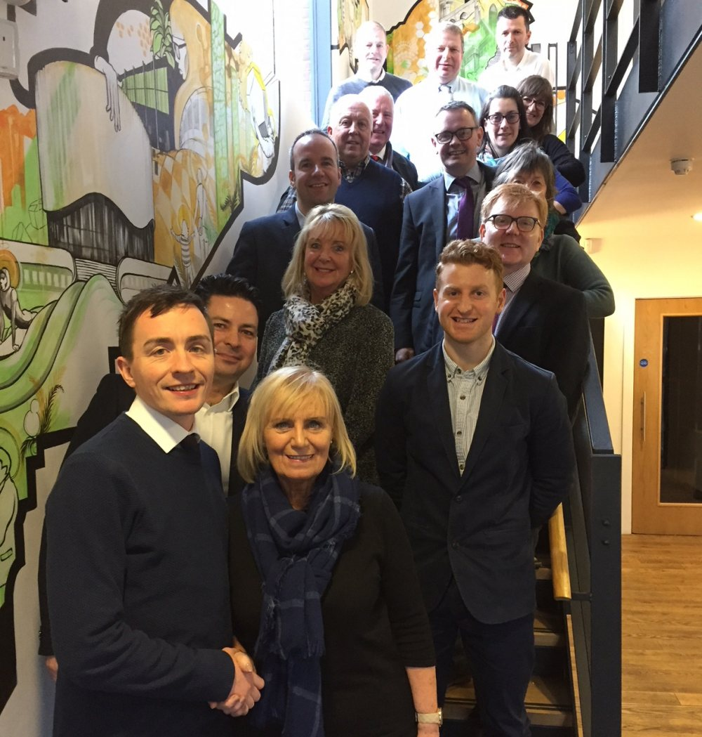 Inverness delegation visits Altrincham for inspiration from 'vibrant' town centre