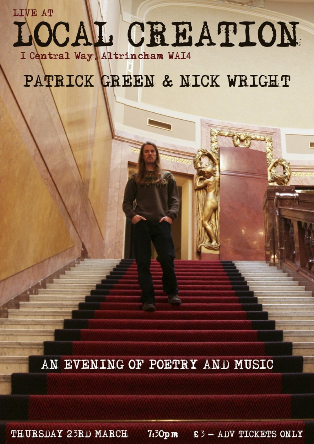 Patrick Green and Nick Wright LIVE at Local Creation