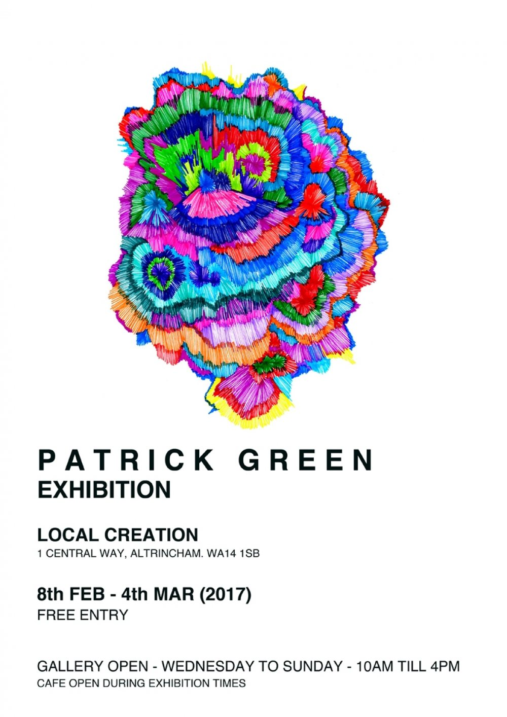'Spontaneous Prose': Patrick Green at Local Creation