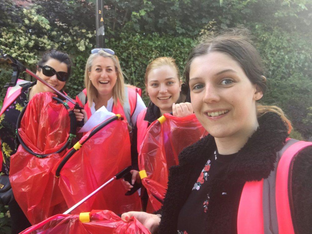 Our Altrincham Tour Of Britain Litter Pick