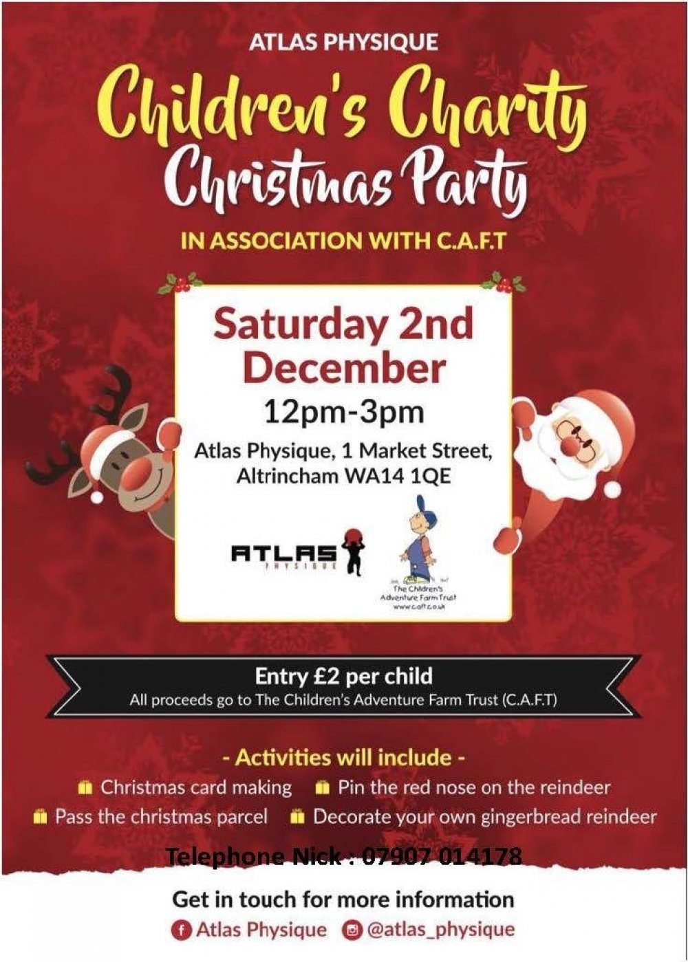 Children's Charity Christmas Party