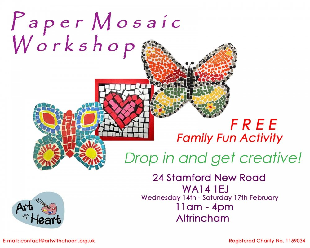 Paper Mosaic Workshop
