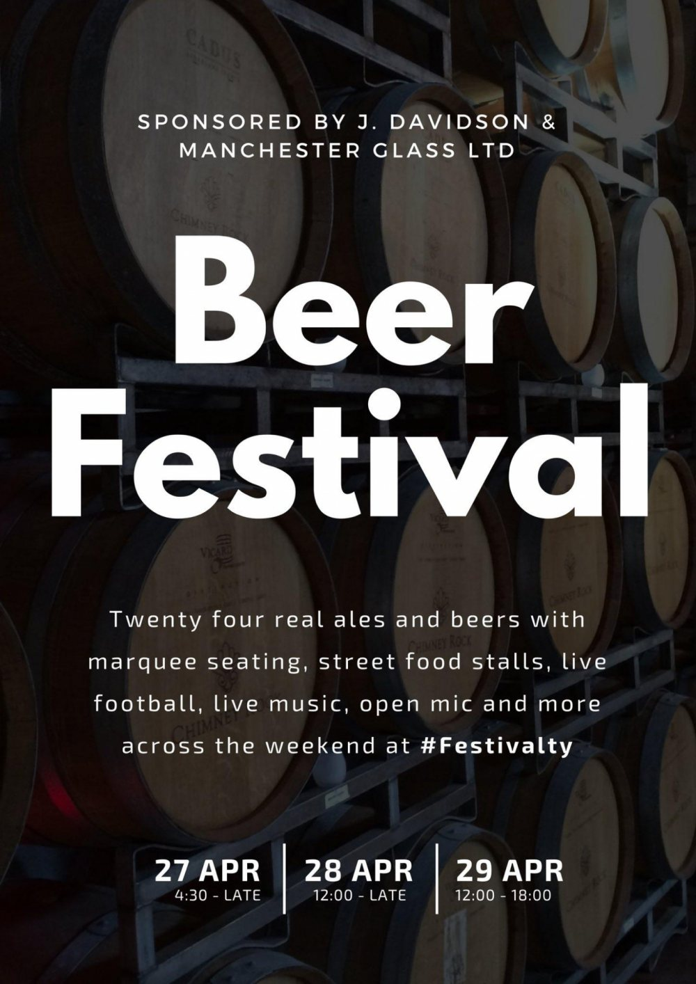 Altrincham FC Beer Festival is back better than ever