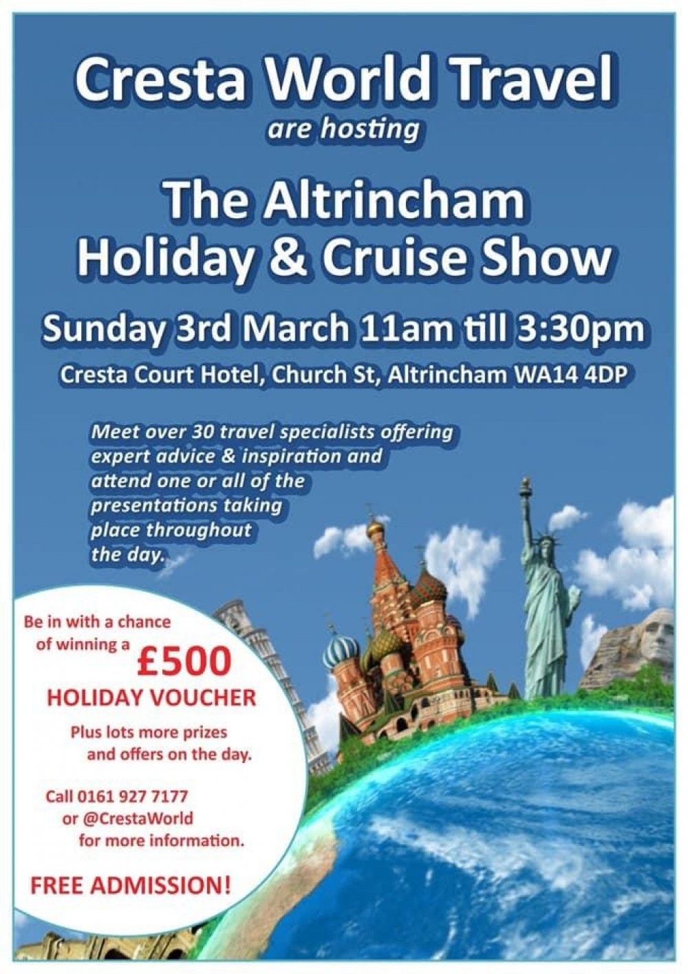 Altrincham Holiday Show!