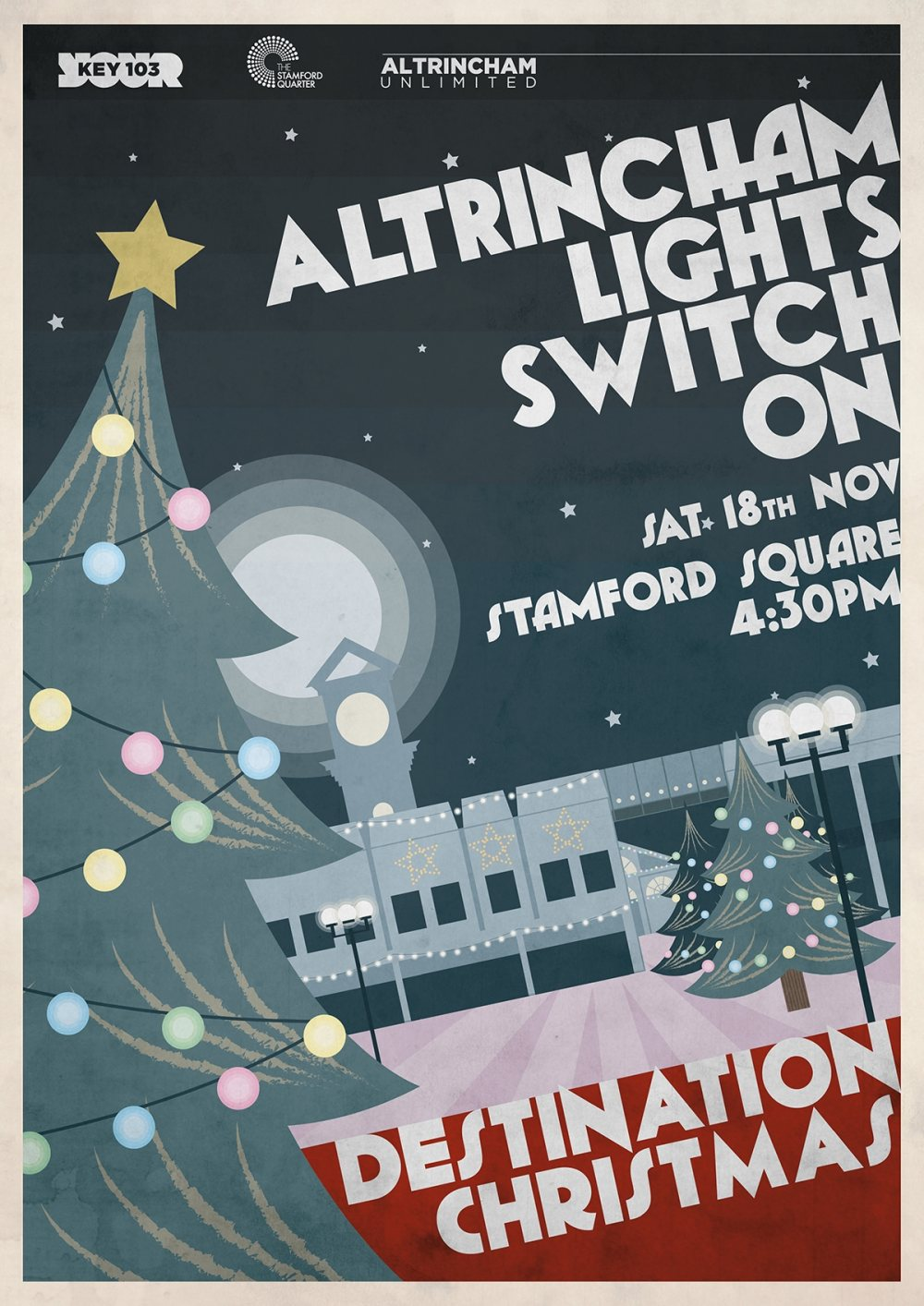 Countdown begins to Altrincham's Christmas lights switch-on