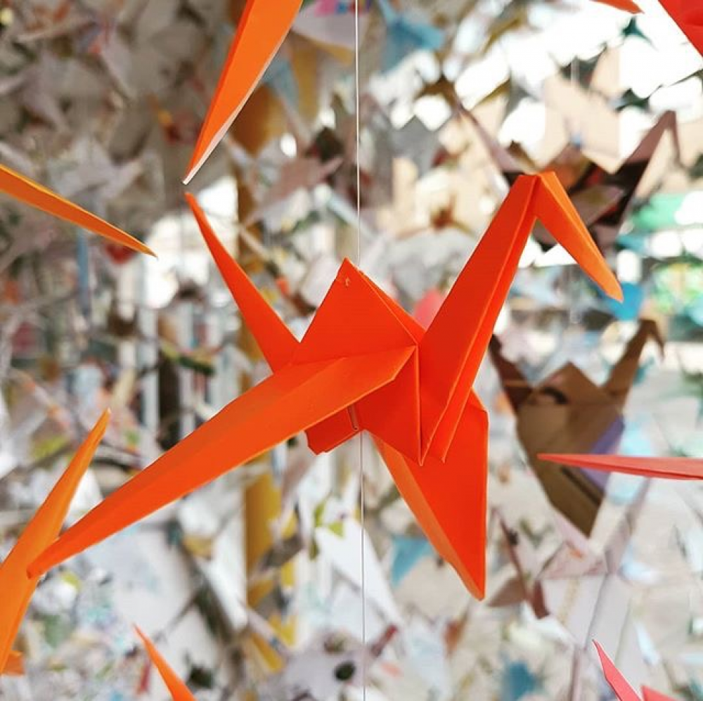 FREE drop-in Origami with Open Studios