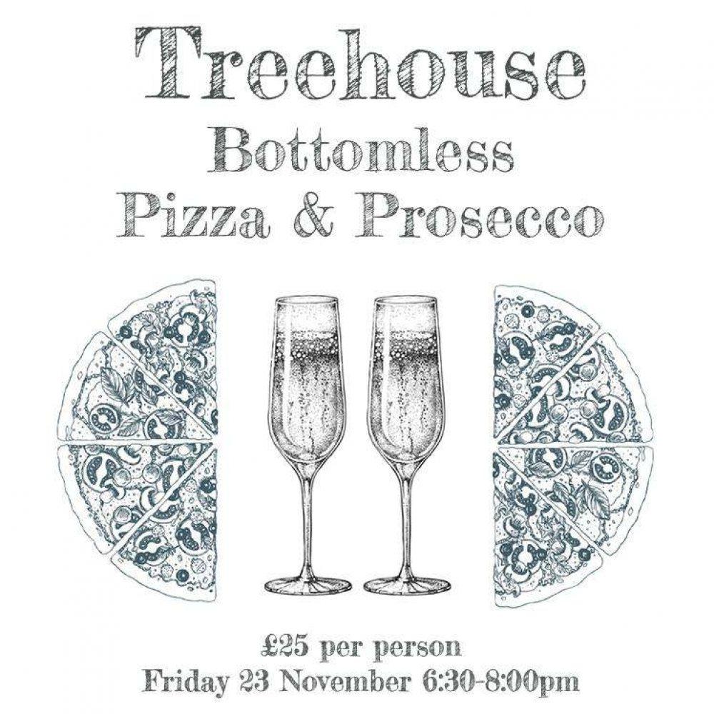 Bottomless Pizza & Prosecco!
