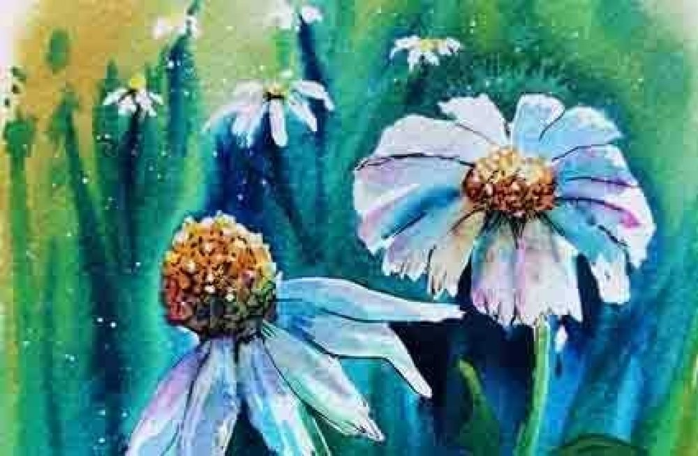 Summer Flowers Watercolour Workshop