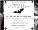 Vintage Vampire Party