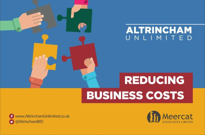 Over £85,000 of cost savings identified for businesses in Altrincham town centre