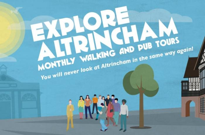 'Explore Altrincham' with award-winning Tour Guide, Jonathan Schofield
