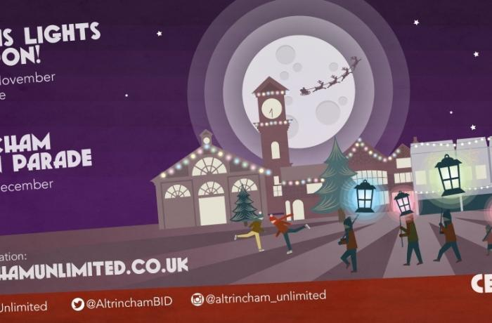 Join Altrincham's Lantern Parade for a touch of Christmas Magic