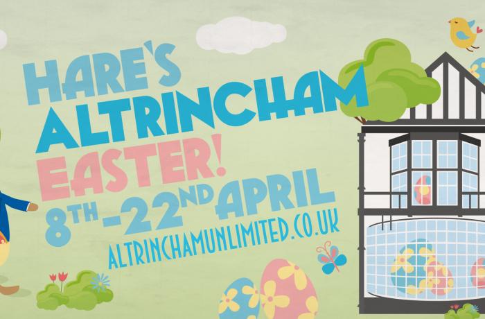 Altrincham Unlimited announces Hare's Altrincham Easter
