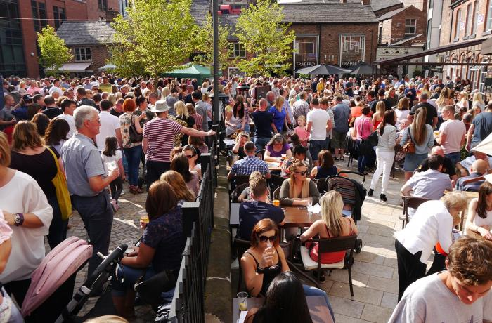 Altrincham is all about live music this August