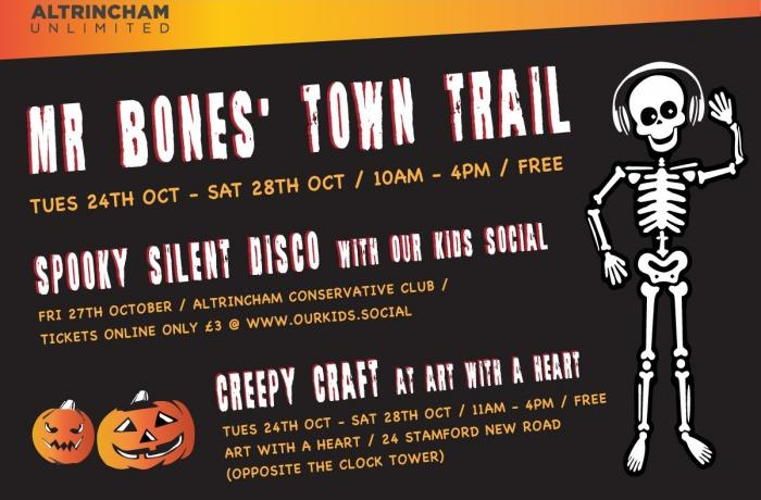 Fiendish family fun this October half term in Altrincham!